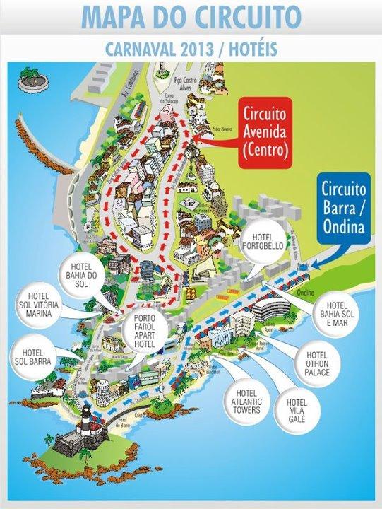 Circuito Barra Ondina : Circuito avenida da central